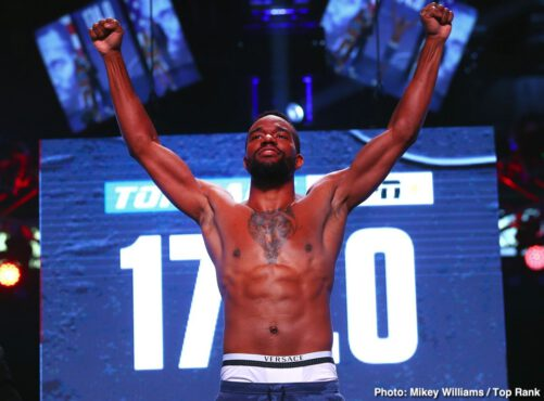 ESPN, Tom Schwarz, Top Rank Boxing, Tyson Fury - Tyson Fury weighed in a little higher than expected on Friday in coming in at 263 pounds for his fight on ESPN+ against German heavyweight Tom Schwarz at the MGM Grand Garden Arena in Las Vegas, Nevada.