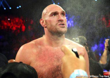 Jesse Hart, Sullivan Barrera, Tom Schwarz, Tyson Fury - Tyson Fury came to Las Vegas. He fought. He conquered.