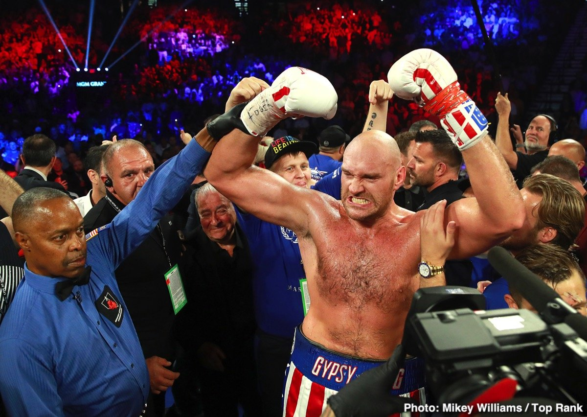 Kubrat Pulev, Tyson Fury - Absolutely everyone knows Tyson Fury needs a far stiffer, sterner challenge in his next fight. Fans will only put up with so many mismatches, the kind Fury was involved in last night, in his Las Vegas debut, against 15/1 underdog Tom Schwarz. And, according to Chris Mannix of Sports Illustrated and his inside info, Fury may well get just that in the fall.