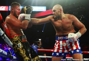 Tom Schwarz - Tyson Fury came to Las Vegas. He fought. He conquered.