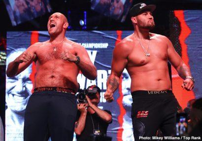 ESPN Tom Schwarz Top Rank Boxing Tyson Fury Boxing News