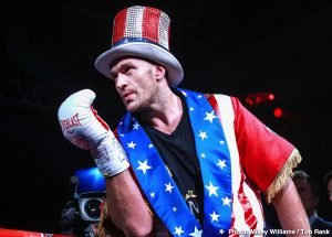 Tom Schwarz - Tyson Fury's next fight could take place on October 5 at Madison Square Garden in New York, according to Top Rank promoter Bob Arum. There isn't an opponent that heads the list for Fury to fight in October, but Arum is in talks with unbeaten American Jarrell 'Big Baby' Miller, and he could be adding him to his Top Rank Boxing stable.