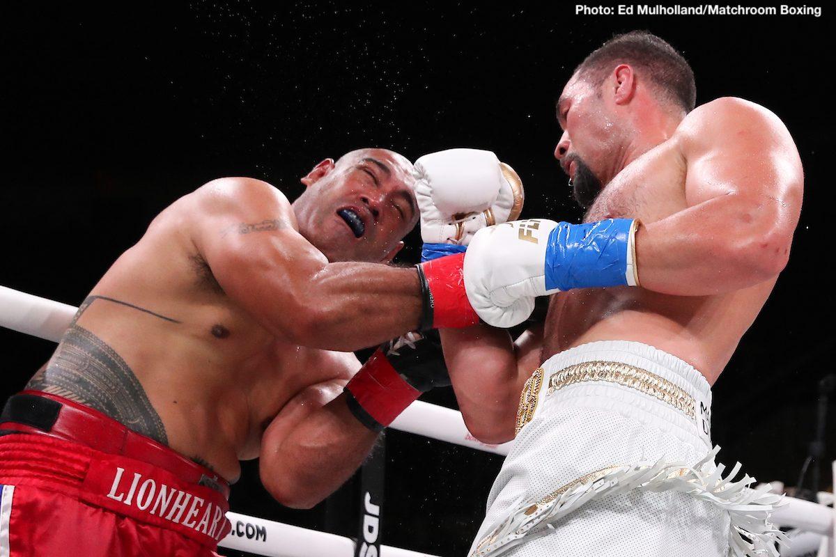 Dereck Chisora Joseph Parker Boxing News