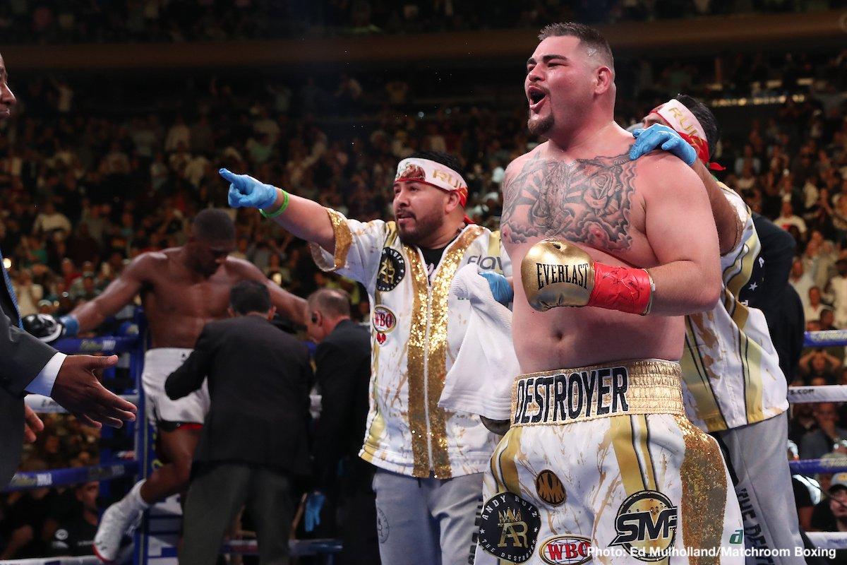 "Andy Ruiz, Anthony Joshua - It was, as fight fans know, announced on Friday how the massive (and massively intriguing) return fight between heavyweights Andy Ruiz and Anthony Joshua is all set, to take place in Saudi Arabia on December 7th. However, some potentially worrying reports have since surfaced that say Ruiz has yet to sign the fight contract and that ""The Destroyer"" will not do so unless his fight purse is bumped up significantly."