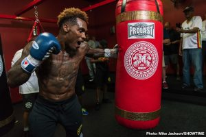Brandon Adams - Unbeaten interim WBC Middleweight Champion Jermall Charlo hosted a media workout Wednesday as he prepares for his title defense against Brandon Adams in the main event live on SHOWTIME Saturday, June 29 from NRG Arena in Charlo's hometown of Houston.