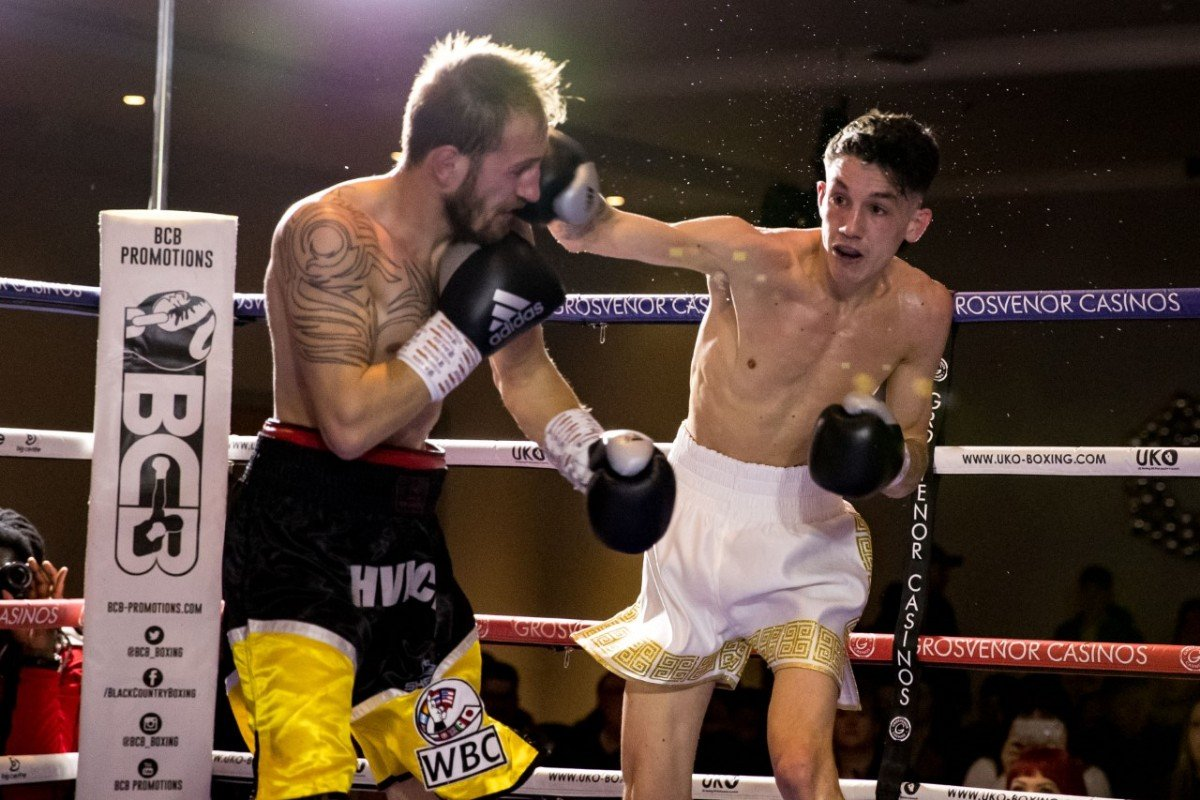 - Liam Davies is determined to catch the eye again when he returns to action on the back of his maiden TKO as a pro.