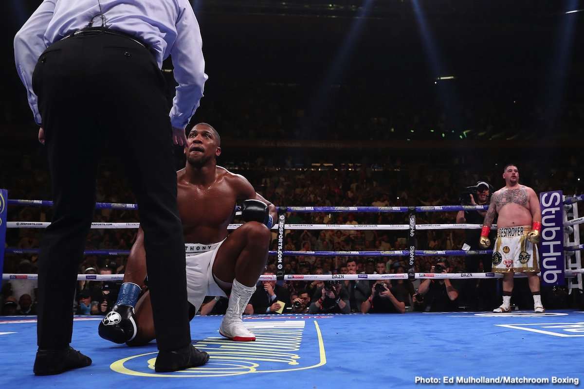 """Anthony Joshua - Top Rank boss Bob Arum will be giving us all a massive """"I told you so,"""" if his prediction ahead of the June 20 fight between defending heavyweight champ Anthony Joshua and challenger Kubrat Pulev comes true. For some time now, even before the fight was made official, Arum has said his fighter Pulev will KO Joshua and pretty much end Joshua's career."""