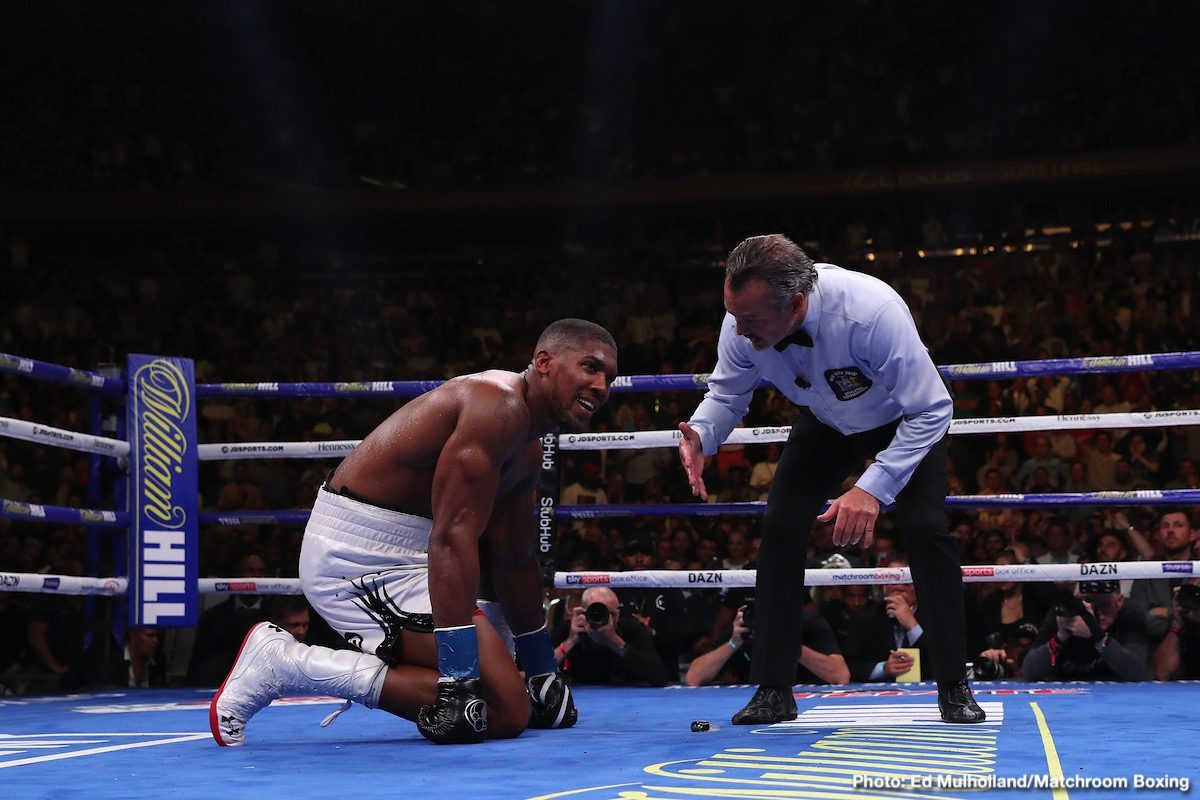 Anthony Joshua Boxing News