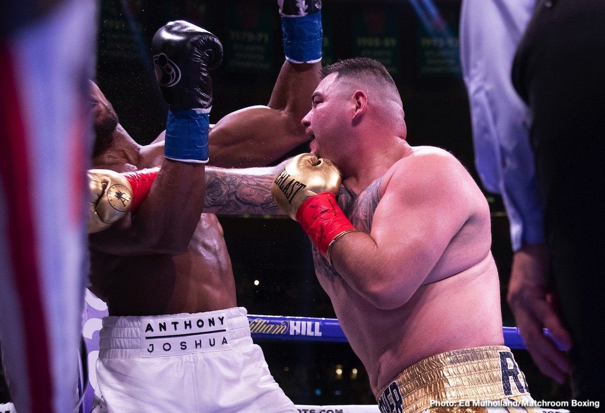 Andy Ruiz - Andy Ruiz has already made a piece of boxing history, by becoming the very first fighter of Mexican descent to win the world heavyweight title, but the new WBA/IBF/WBO ruler wants to make more. Ruiz, arguably the single hottest fighter on the planet right now, wants to fill the cavernous Azteca Stadium in Mexico, and he feels his upcoming, eagerly awaited return fight with Anthony Joshua would do it.