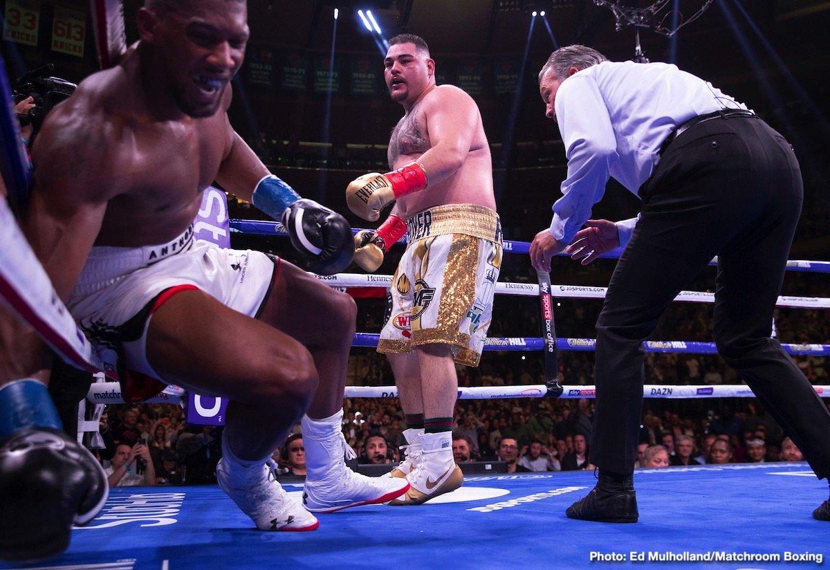 Andy Ruiz, Anthony Joshua - Top Stories Boxing