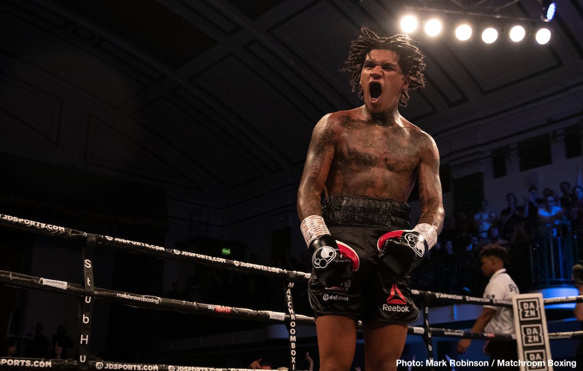 Conor Benn Ted Cheeseman Boxing News Boxing Results British Boxing