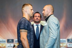 """Andrew Tabiti - Glowacki at final press conference: """"It is going to be a great war!"""""""