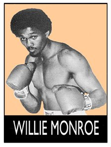 """- Our great sport lost one of the fine middleweight boxers over the weekend, as Philly's Willie """"The Worm"""" Monroe passed away on June 22 - He was 73 years of age- A slick, smooth and incredibly skilled boxer, Monroe is best known for his wholly deserved win over the legendary Marvin Hagler, who """"The Worm"""" legitimately beat, on points over ten-rounds, at The Spectrum in March of 1976."""