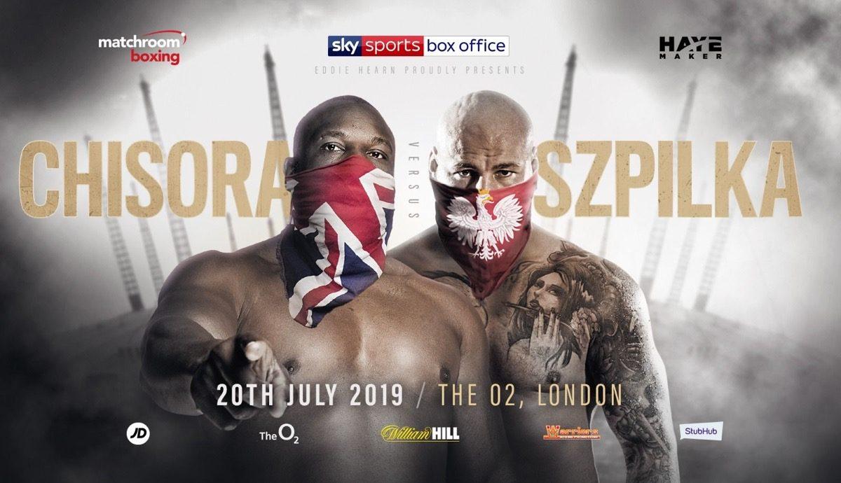 Artur Szpilka Dave Allen David Price Dereck Chisora Dillian Whyte Oscar Rivas Boxing News British Boxing