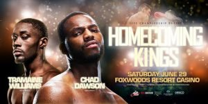 Chad Dawson - Back in the ring for the first time in more than two years, former world champion and pound-for-pound king Chad Dawson shook off some early rust and survived a flash knockdown Saturday at Foxwoods Resort Casino to earn a hard-fought win over Quinton Rankin at the Fox Theater.