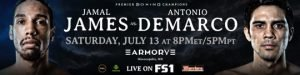 Gerald Washington - Former Heavyweight World Champion Charles Martin Battles Daniel Martz in FS1 PBC Fight Night Action & on FOX Deportes Saturday, July 13 from The Armory in Minneapolis - 8 p.m. ET/5 p.m. PT