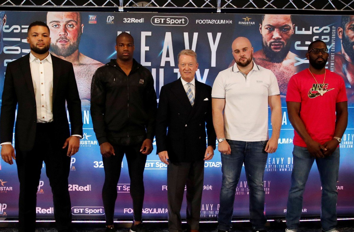 Nathan Gorman - DANIEL DUBOIS will be having his own D-Day celebrations if he wipes out Nathan Gorman next month.