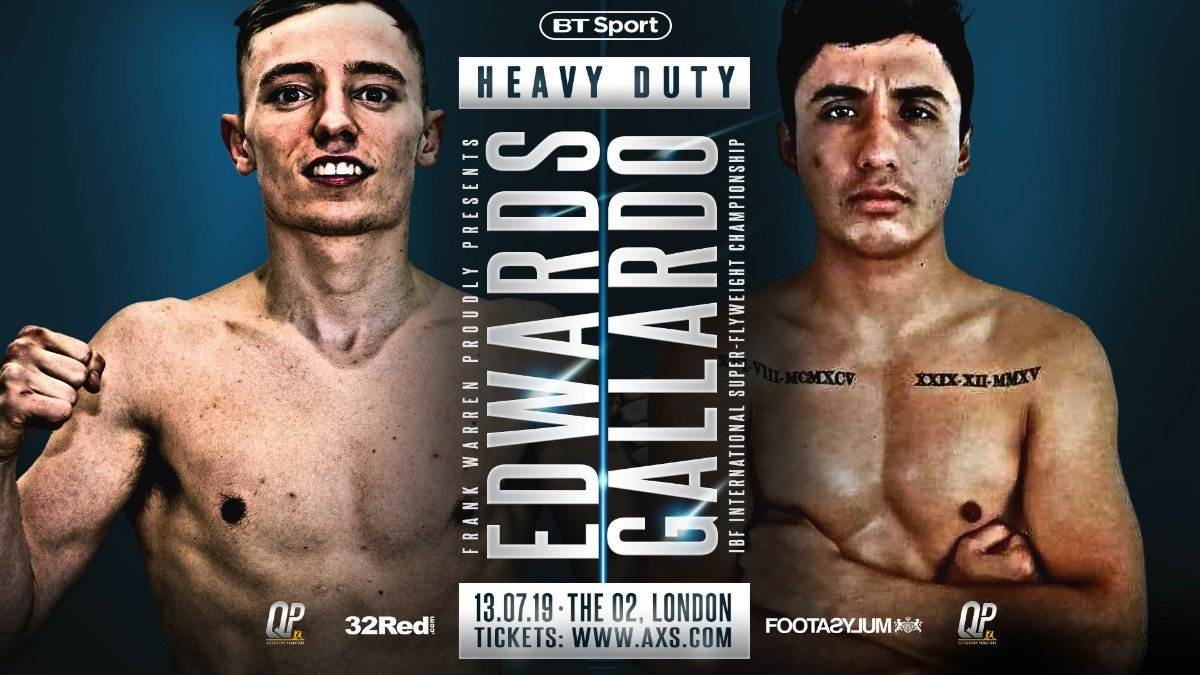 Sunny Edwards - SUNNY EDWARDS WILL bid to add the IBF International super flyweight title to his rapidly growing collection of belts when he fights at The O2, London on July 13.