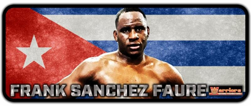 - Leon Margules of Warriors Boxing and Evgeny Vainshtein of Chelyabinsk, Russia-based Ural Boxing Promotions proudly announce the signing of undefeated Cuban heavyweight Frank Sanchez Faure (11-0, 9 KOs) to a co-promotional contract.