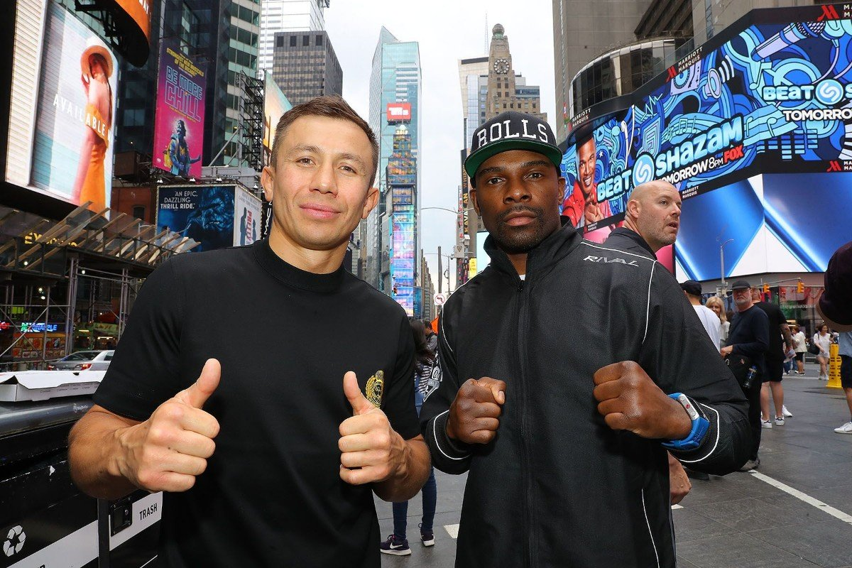 "Gennady Golovkin, Steve Rolls -  ""I KNOW STEVE ROLLS CAN BE DANGEROUS BECAUSE I USED TO BE STEVE ROLLS."" - Gennadiy ""GGG"" Golovkin"