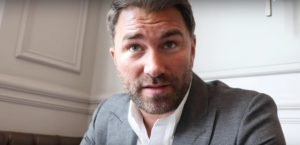 """Andy Ruiz - Promoter Eddie Hearn has a lot going on right now (an understatement if ever there was one!), with a number of fighters – Dillian Whyte, with Hearn firing back at the """"cheat"""" claims currently aimed at the highly-ranked heavyweight, Luke Campbell, who is preparing for his massive fight with Vasyl Lomachenko, and others – yet high on Hearn's agenda is securing a UK venue for the return fight between Andy Ruiz and Anthony Joshua."""
