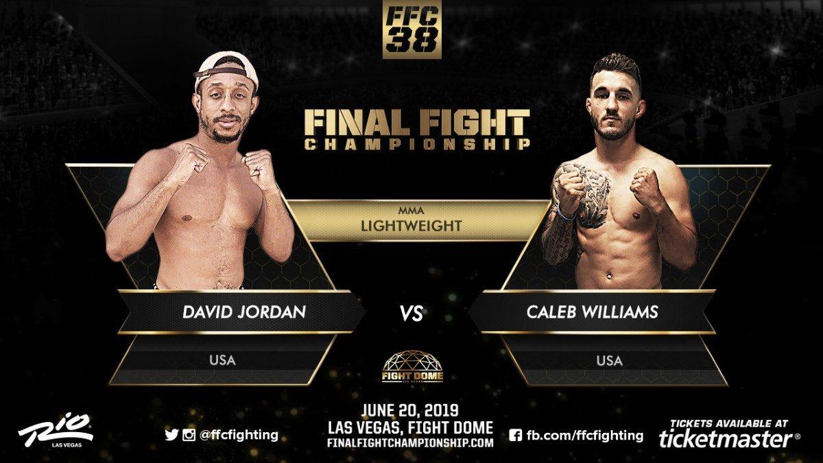 David Jordan Jordan Williams MMA News