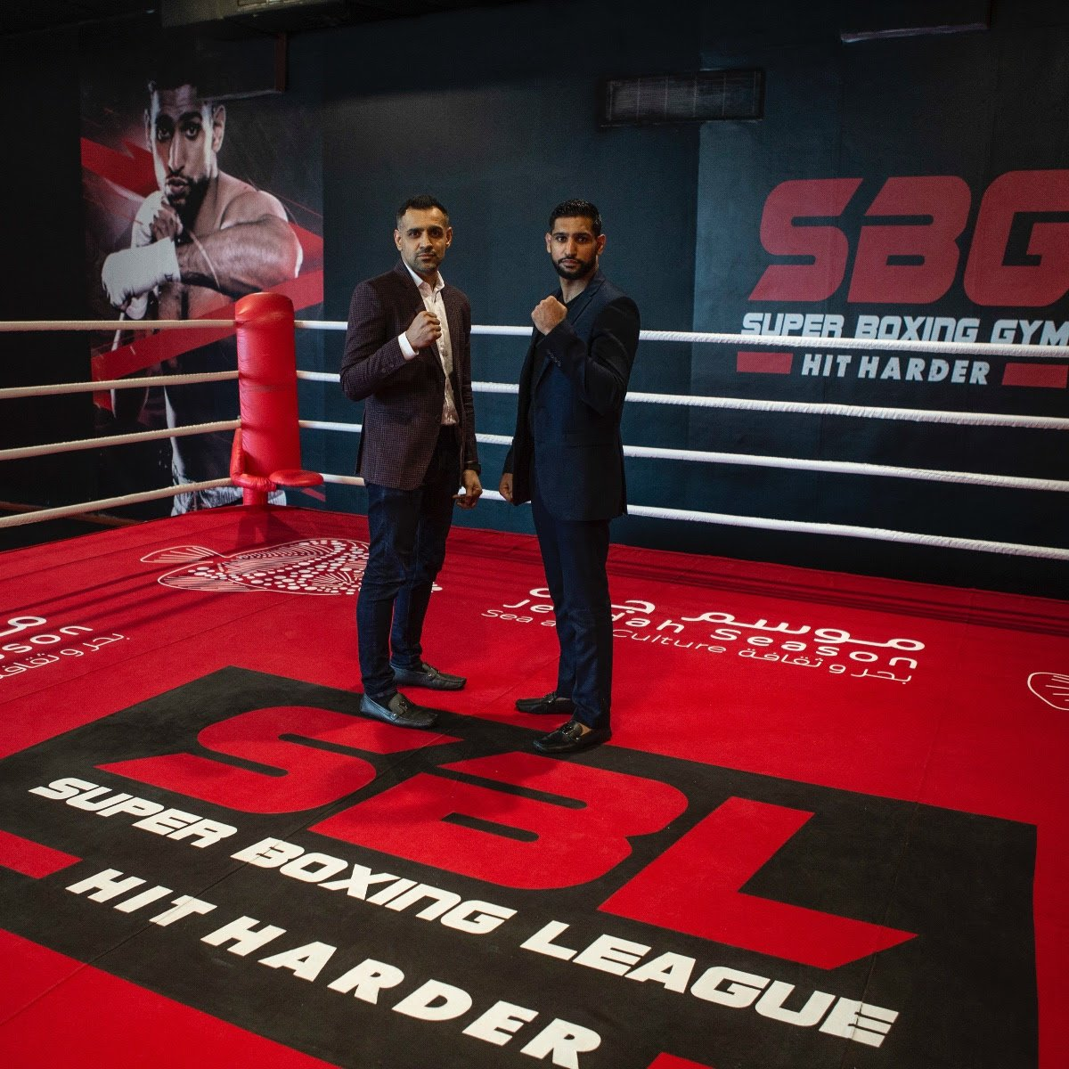 - Amir Khan and Bill Dosanjh of the Super Boxing League (SBL) today announced an exclusive and groundbreaking partnership agreement with Fitness Time Gym that will initially see eight Super Boxing Gyms opening at properties in key cities throughout Saudi Arabia.