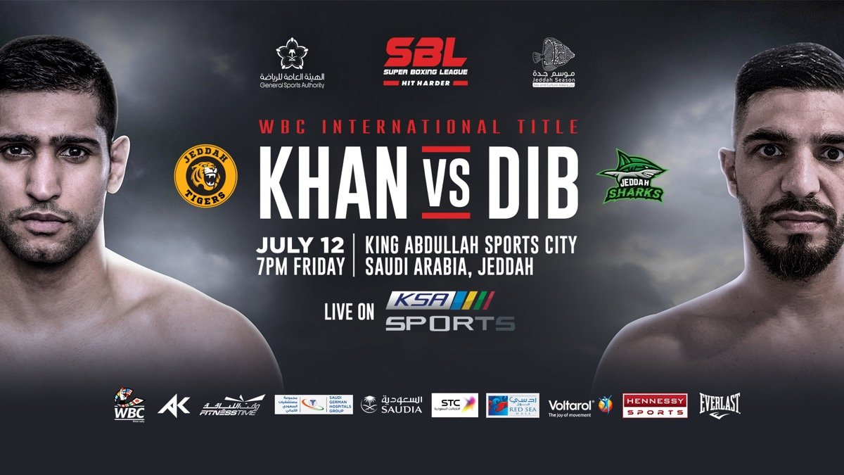British Heavyweight legend Lennox Lewis has confirmed he will be in Jeddah, Saudi Arabia, on Friday 12th July to watch Amir Khan in his showdown with Billy Dibb.