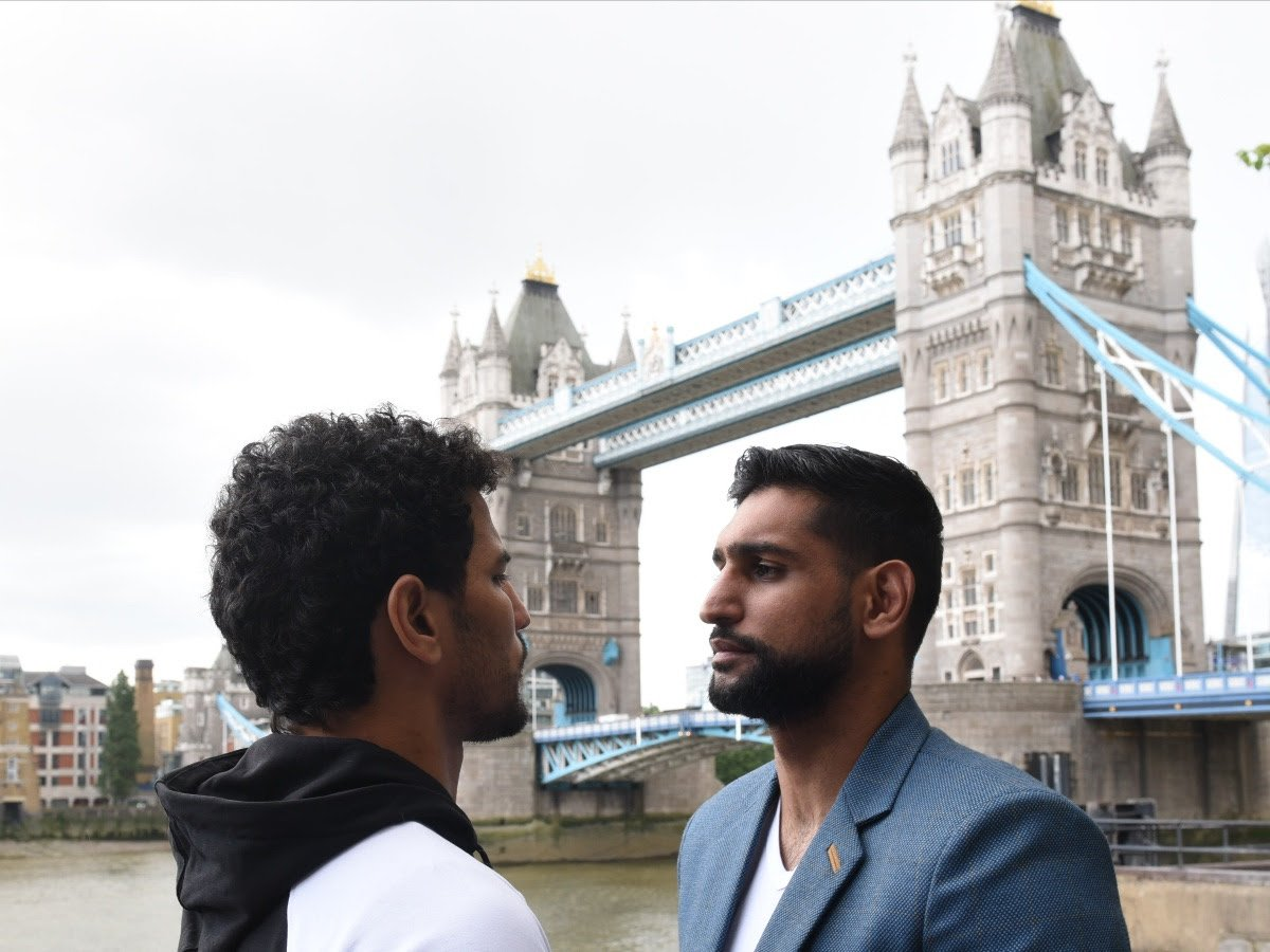 Two-Time World Champion and boxing star Amir Khan's history making fight against Neeraj Goyat at the King Abdullah Sports Stadium in Jeddah, Saudi Arabia, on Friday 12th July will be broadcast exclusively live in the UK on free-to-air Channel 5.