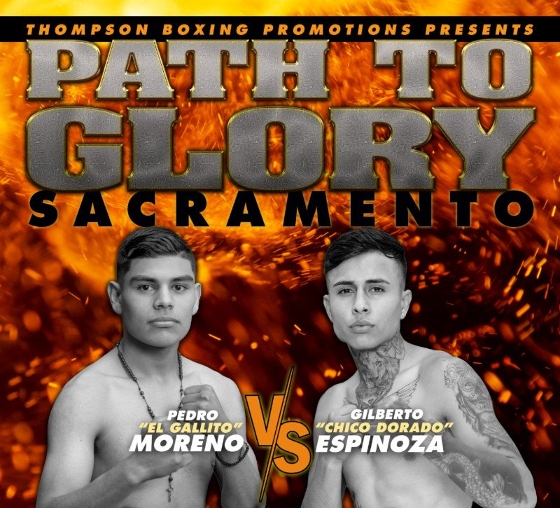 "- Junior welterweight Pedro Melo (11-0, 7 KOs) makes his first appearance of the year as the headlining attraction of ""Path to Glory"" this Friday from Omega Products International in Sacramento, Calif."