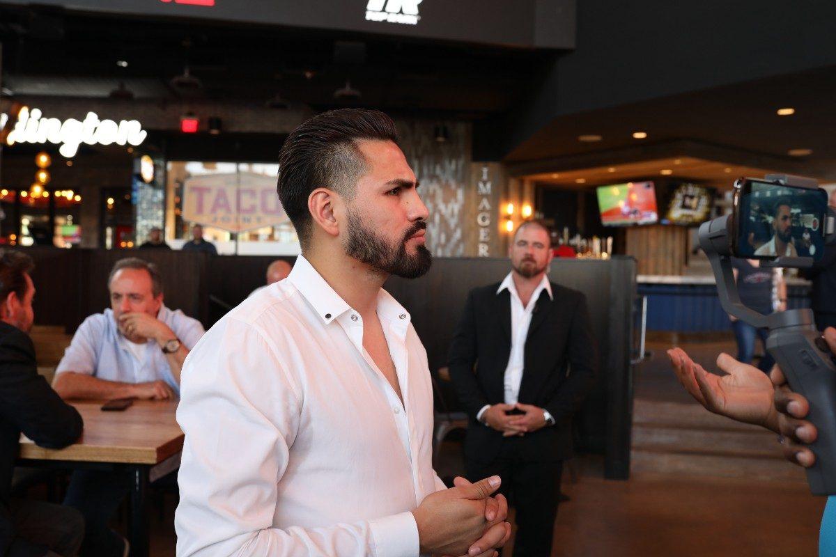 DAZN Eddie Hearn Jose Carlos Ramirez Maurice Hooker Boxing News
