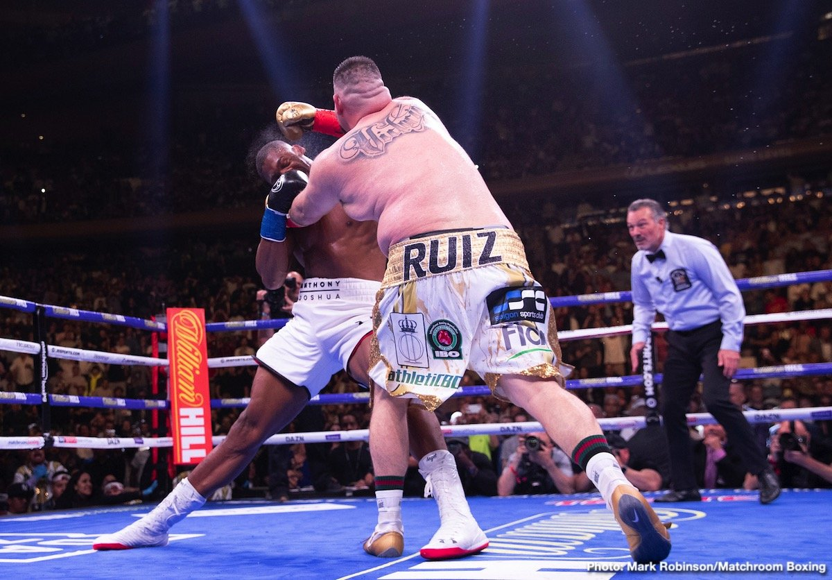 Andy Ruiz Jr, Anthony Joshua, Matchroom Boxing - Boxing News