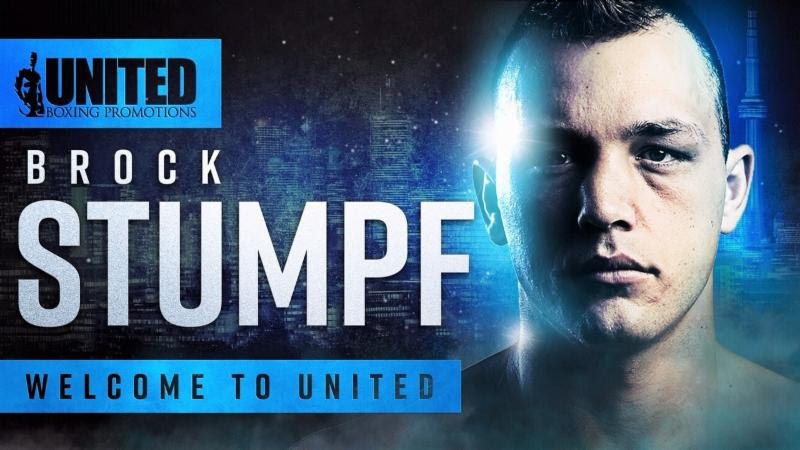 - United Boxing Promotions (UBP) has signed Canadian amateur boxing standout Brock Stumpf to an exclusive promotional contract.