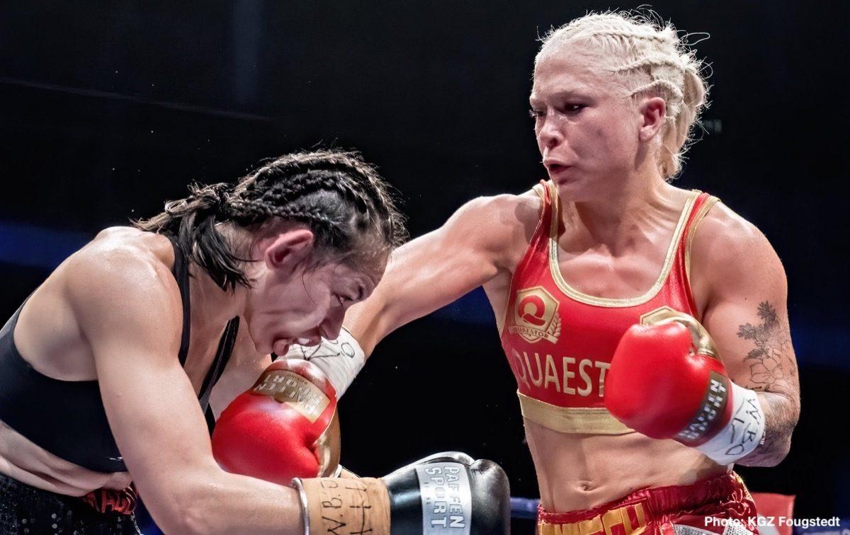 Dina Thorslund Boxing Results Press Room