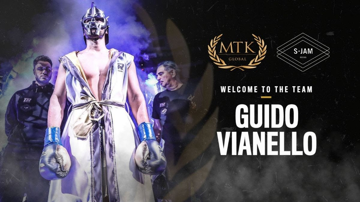 Lewis Benson - Italy's leading heavyweight hope Guido Vianello (3-0, 3 KOs) will now be co-managed by MTK Global and S-Jam Boxing.