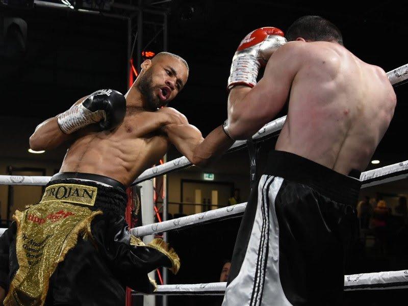 Edwin Palacios Troy Williamson British Boxing Press Room