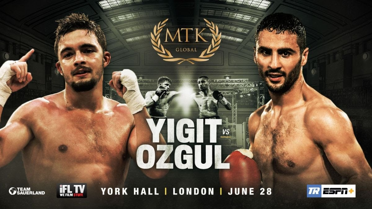 Anthony Yigit, Siar Ozgul - World title challenger Anthony Yigit (23-1-1, 8 KOs) will meet Siar Ozgul (15-3, 3 KOs) at the #MTKFightNight on June 28 at York Hall in London, on ESPN+.