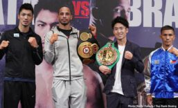 Rob Brant, Ryota Murata - Before hometown hero and WBO No. 1 featherweight contender Shakur Stevenson headlines against Alberto Guevara at Newark's Prudential Center on Saturday evening (ESPN and ESPN Deportes, 10:30 p.m. ET), boxing fans will be treated to a trio of world-class cards exclusively on ESPN+, the industry-leading sports streaming service.