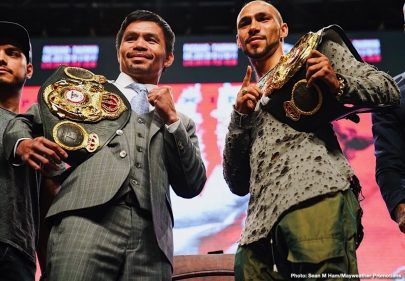 John Molina jr. Keith Thurman Luis Nery Manny Pacquiao Omar Figueroa Jr. Sergey Lipinets Yordenis Ugas Boxing News Top Stories Boxing