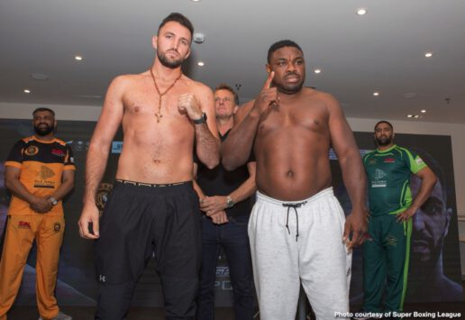 Amir Khan, Billy Dib, Hughie Fury, Samuel Peter - Two Time World Champion Amir Khan is set to make history tonight when he becomes the first Muslim boxer to headline a boxing event in Saudi Arabia.