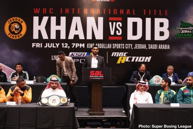 Amir Khan, Billy Dib, Hughie Fury, Samuel Peter - Boxing News