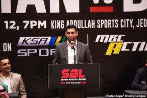 Amir Khan, Billy Dib, Hughie Fury, Samuel Peter - Amir Khan is promising a special show against Billy Dib this Friday on the massive 'Red Sea Fight Night' extravaganza as he looks to make Saudi Arabia the centre of the boxing world.