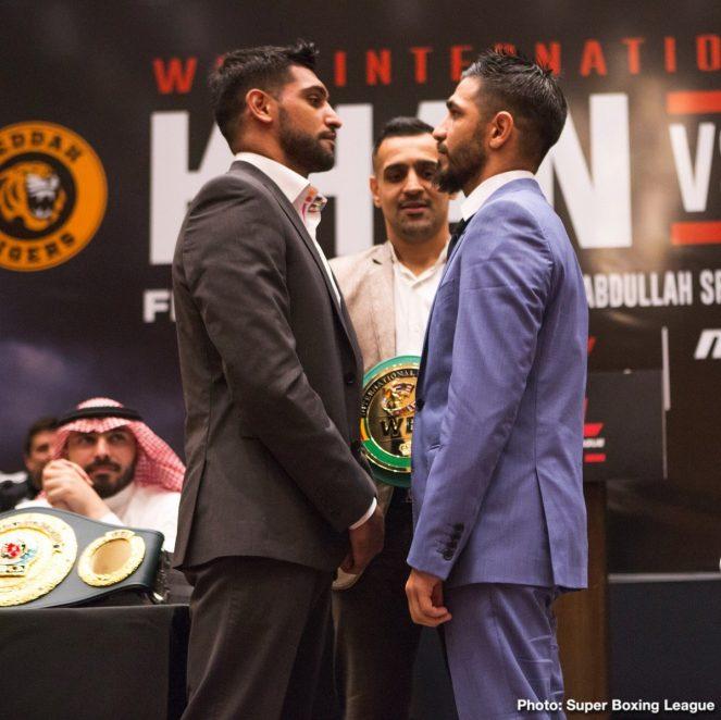 Amir Khan Billy Dib Hughie Fury Samuel Peter Boxing News British Boxing