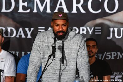 Antonio DeMarco Charles Martin Gerald Washington Jamal James Robert Helenius Boxing News