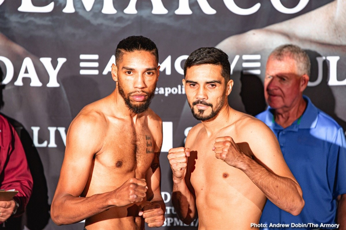"Jamal James - Welterweight contender and Minneapolis-native Jamal ""Shango"" James and former world champion Antonio DeMarco went face-to-face Thursday at the final press conference before they meet in a 10-round welterweight attraction that headlines FS1 PBC Fight Night and on FOX Deportes this Saturday night from The Armory in Minneapolis."