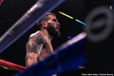Caleb Plant Juan Carlos Payano Keith Thurman Luis Nery Manny Pacquiao Mike Lee Omar Figueroa Jr. Sergey Lipinets Yordenis Ugas Boxing News Boxing Results Top Stories Boxing