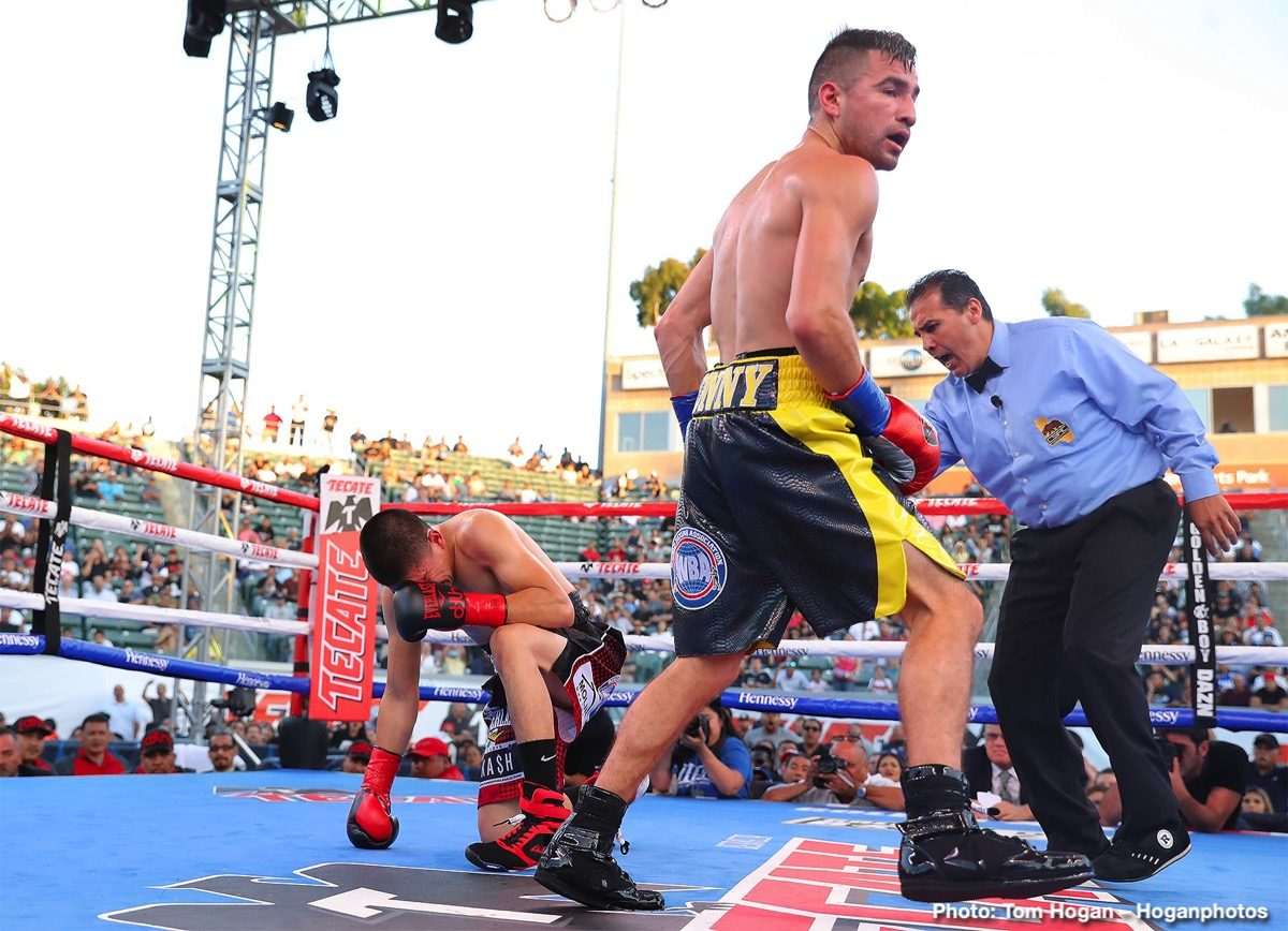 Diego De La Hoya Ronny Rios Boxing News