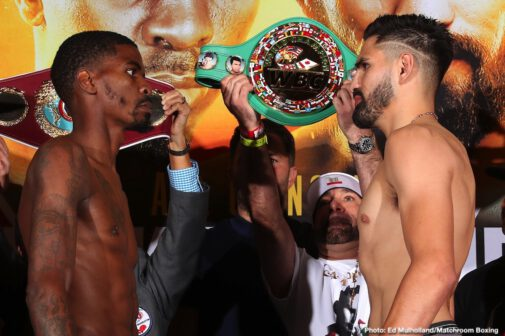 Jose Carlos Ramirez, Maurice Hooker - LIVE WEIGH-IN - Friday's weigh-in will be live-streamed starting at 2 pm ET - On Saturday night, DAZN's coverage of the preliminary fights begins at 7 pm ET, with the main card starting at 9 pm ET.