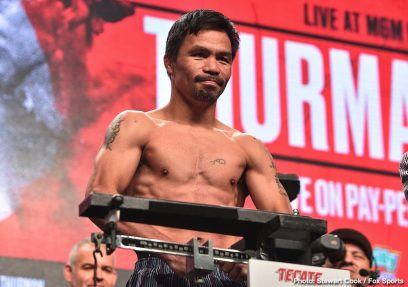 Keith Thurman Manny Pacquiao Boxing News Top Stories Boxing