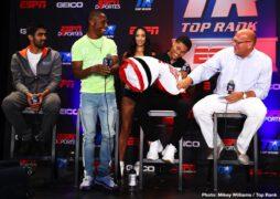 Shakur Stevenson, Vijender Singh - ESPN+ (7 p.m. ET)